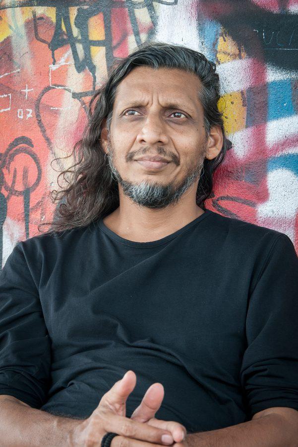 Kabir Mohanty, Künstler, Filmemacher, Mumbai, Indien