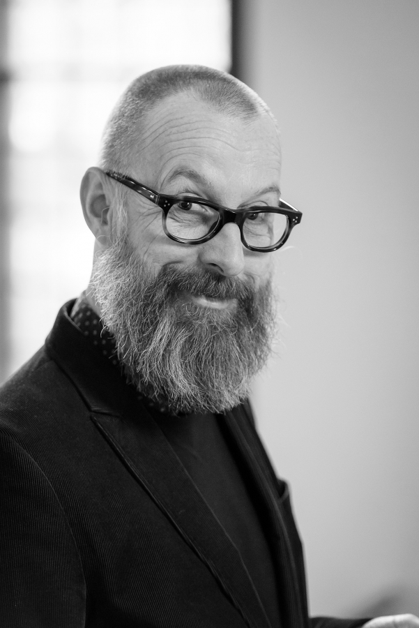 """Holger Zebu Kluth; Rektor Hochschule für Schauspielkunst """"Ernst Busch"""""""